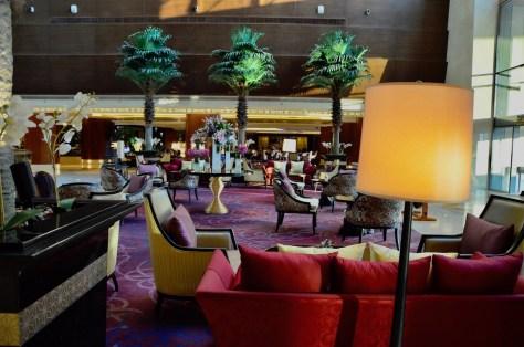 Dusit Thani Abu Dhabi lobby