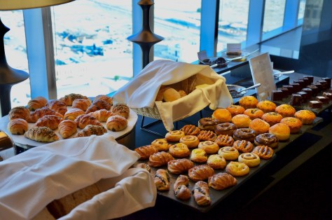 Croissants at Dusit Club Lounge Breakfast from Breakfast from 06:30 – 10:30
