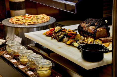 Roast Beef and Pizza at Urban Kitchen Lunch Buffet - AED 151 per adult without drinks