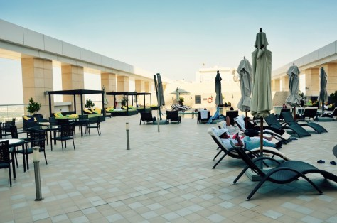 Dusit Thani Abu Dhabi swimming pool Terrace
