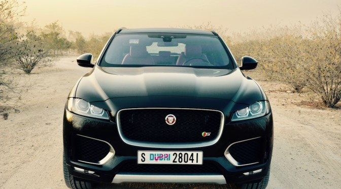 JAGUAR F-PACE S 2017 – Starting at AED 295,000