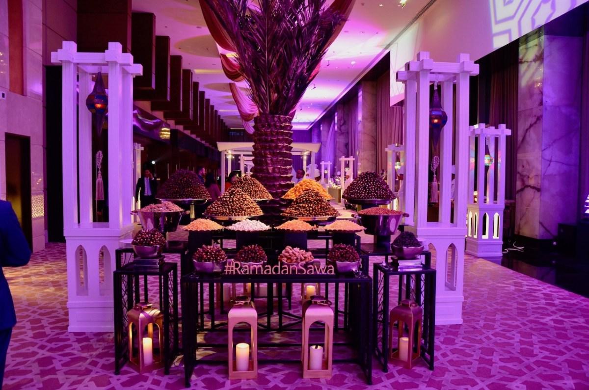 Constellation Ballroom - The Address Dubai Marina - AED 220 - Iftar 2017