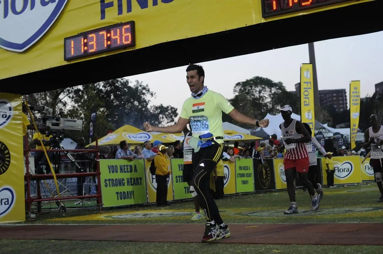 The 1st Half of Comrades 2013 UP RUN