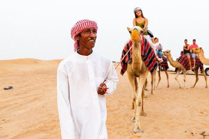 Camel Ride Desert Safari