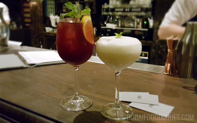 Cocktails at La Residence Dubai