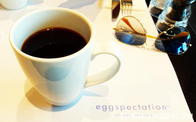 Coffee at Eggspectation at The Beach Dubai JBR