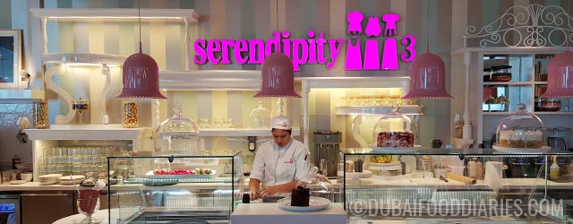Eating the American dream at Serendipity 3, Dubai Festival City