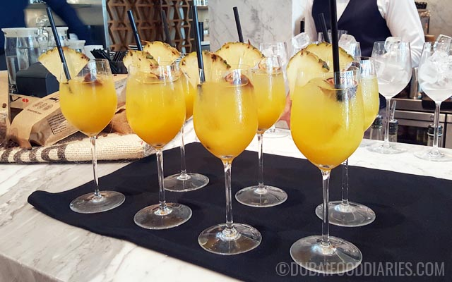Mocktails at Intersect by Lexus Dubai International Financial Center DIFC Dubai
