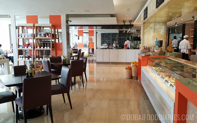 Inside Counter Culture Cafe Marriott Harbour Hotel and Suites Dubai Marina