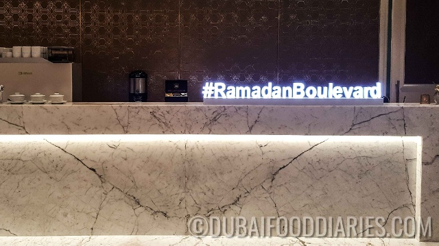 Iftar preview at the Address Boulevard, Downtown Dubai