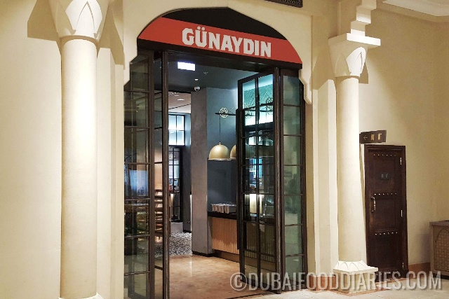 Entrance of Gunaydin, Souk al Bahar, Downtown Dubai