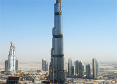 KEY DRIVERS: The Dubai Metro and Burj Dubai will ensure the future of the construction industry, say experts. (Getty Images)