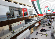 MALL GIANTS: Smaller shopping centres fear they will lose out to others, like Dubai Mall, when the metro opens. (Getty Images)