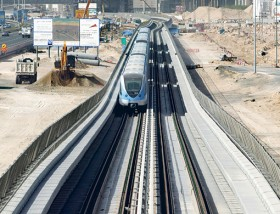 The Dubai Metro will provide the backbone of public transport in the city.
