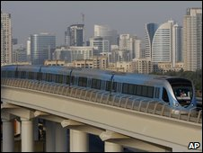 The Dubai Metro aims to become the world's longest driverless train system