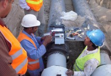 Co-ordination of services and access for the district cooling piping network posed a major challenge