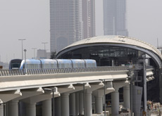METRO BAN: Food and drink is banned from the trains being used on Dubai Metro. (ITP Images)