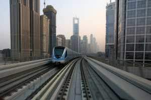 Japanese builders are owed billions of dollars on projects that include the Dubai Metro. Randi Sokoloff / The National