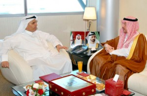 Al Tayer receiving the Saudi Consul.