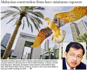 Ng Kee Leen (right) ... 'There aren't many Malaysian construction firms left in Dubai.'