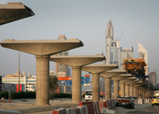 METRO PLAN: Riyadh is planning to build a metro system, similar to one recently completed in Dubai. (Getty Images)