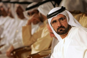 POSITIVE MESSAGE: Sheikh Mohammed said on Tuesday that ambition would remain the ally of the UAE's future plans. (Getty Images)