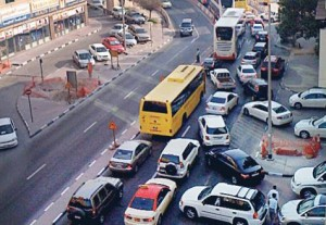 """*  An unnecessarily long wait at a traffic signal in Bur Dubai may be costing lives, according to Gulf News reader Syam Manohar. He said: """"I have seen ambulances getting stuck... for as long as 10 minutes.""""     * Image Credit: Syam Manohar/Gulf News Reader"""
