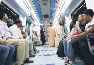 *  Dubai Metro will play a major role once it is fully operational on both the Red and Green Lines, as it is expected to carry 17 per cent of the 30 per cent people using public transport by 2020.     * Image Credit: Ahmed Ramzan/Gulf News