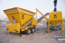 Fibo intercon will launch updated versions of their mobile batching plants B1200 and M2200 at the Big 5 PMV from 22-25 November