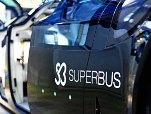The electric-powered Superbus is the brainchild of Dutch engineers