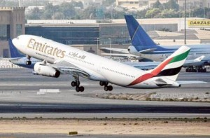 *  Image Credit: Gulf News archive     * An Emirates plane taking off. Dubai is investing more than Dh28.4 billion to implement the fourth phase of Dubai Airport's expansion and increase the its capacity to more than 90 million passengers annually.
