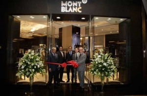 Montblanc unveils another fine boutique in Dubai reinforcing its commitment to the Middle East luxury market.
