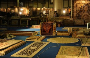 Carpet Oasis draws huge crowds with its range of exhibits featuring thousands of pieces of rare and hand-made carpets.