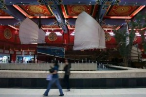 Ibn Battuta Mall, the largest themed mall in the world with 111,500 square metres of retail space, is about to double its size. Randi Sokoloff / The National