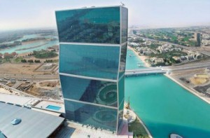 *  Image Credit: COURTES Y: Lagoona Mall, Qatar     * The Lagoona Mall adjoins the Zig-Zag Towers, residential high-rises, in the West Bay locality. The mall promoters are eyeing these towers for a captive shopper base.