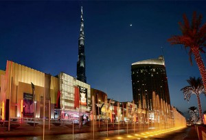 The Dubai Mall's Grand Drive. The shopping centre continued to make waves as it attracted more visitors than the annual tourists to New York City and Los Angeles. — Supplied photo
