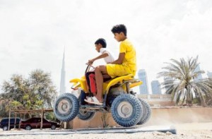 Image Credit: Ahmed Ramzan/Gulf News Archives     Kids riding quadbike at Al Safa area Dubai. Picture used for illustrative