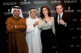 Mohammed Abdulmagied Seddiqi, VP Sales & Retail - Abdul Hamied Seddiqi, Vice Chairman, Elissa Khoury and Anotnio Calce.