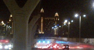 Traffic jam starts at Atlantis and reaches all the way to Al Sufouh Road, says a resident (SUPPLIED)
