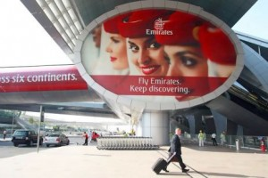 Dubai International Airport, home to Emirates Airline, has recorded double-digit growth rates. Gabriela Maj / Bloomberg News