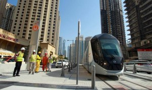 Tram testing in process Published: Monday, November 03, 2014 - Khaleejtimes.com