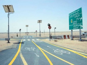 Image Credit: RTA The 23-km Seih Assalam-Nad Al Sheba track, which is slated to open by October, will increase the length of cycling tracks in Dubai to 178 km.