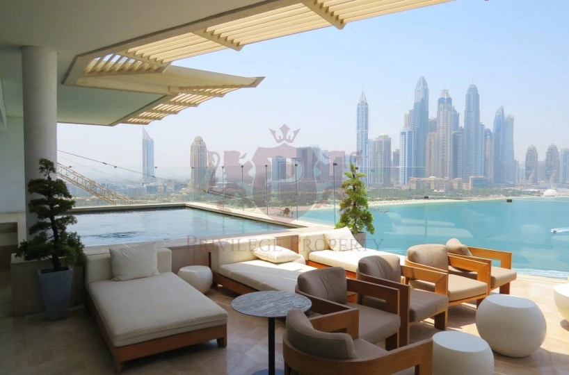 Highest Penthouse For Rent with Private Pool - Five Residences