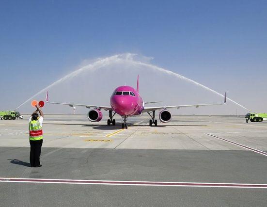 Új reptér Dubaiban - Wizzair DWC