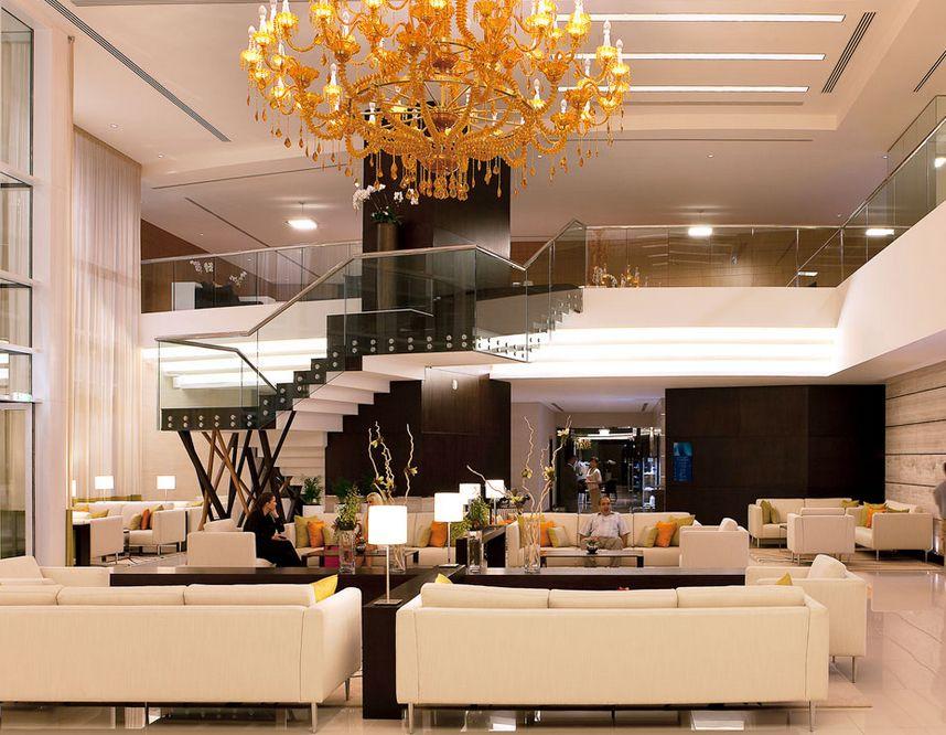 Novotel, al Barsha Dubai, lobby