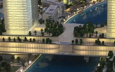 Új bevásárlóközpont épül a Dubai csatornán