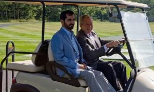 Mohammed sejk G.W. Bush elnökkel