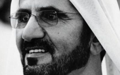 10 éve Dubai élén Mohamed sejk