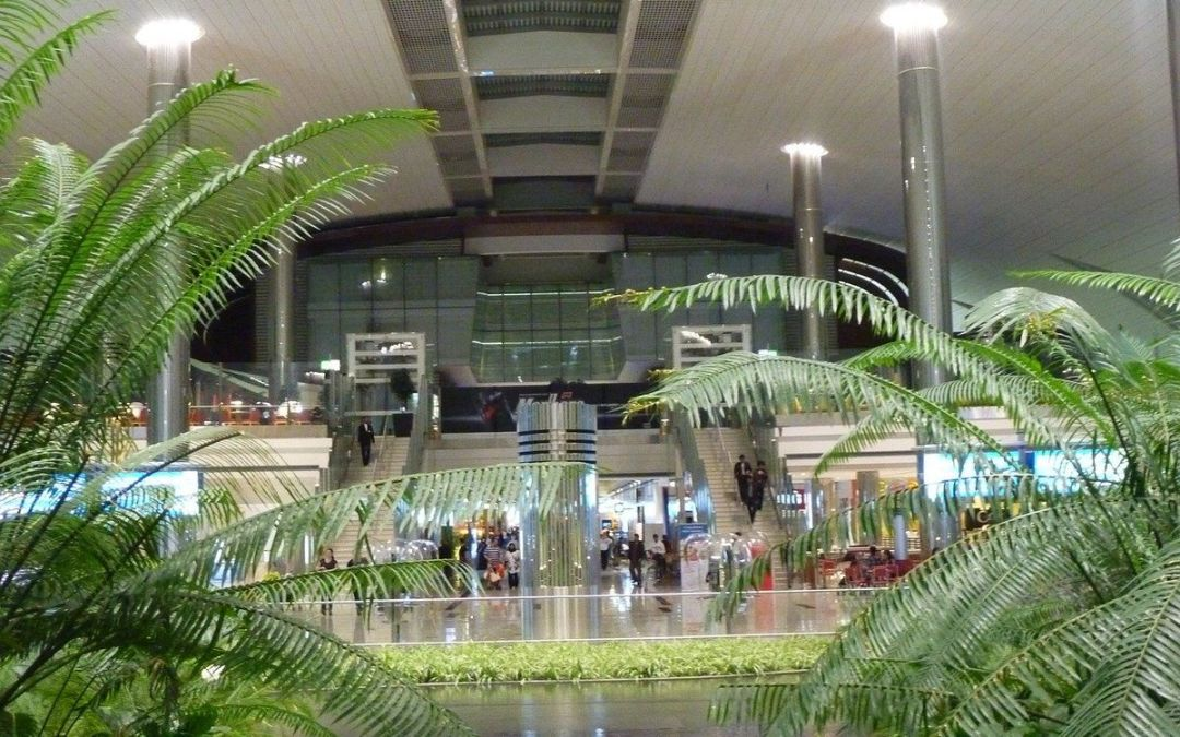 Dubai reptér DXB