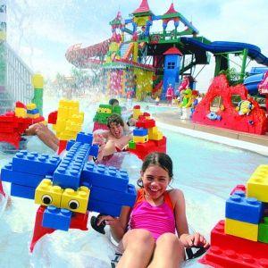 Lego vízipark gyerekkel